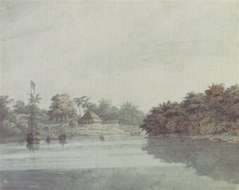 the governor generals budgerow on the ganges brahmaputra delta by hubert cornish
