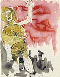 adieu (remix) by georg baselitz