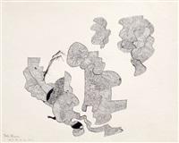 sans titre (dessin vix) by gaston chaissac