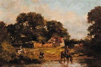 untitled - sunday picnic by john blake mcdonald