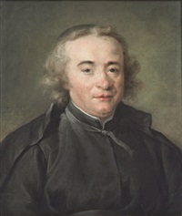 portrait of père ruffin, supérieur of the théatins by adélaïde labille-guiard
