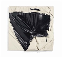 no title painting #4 by steven parrino