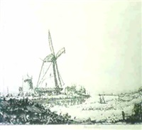 windmill by herman armour webster