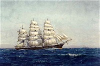 ship portrait by hely augustus morton smith