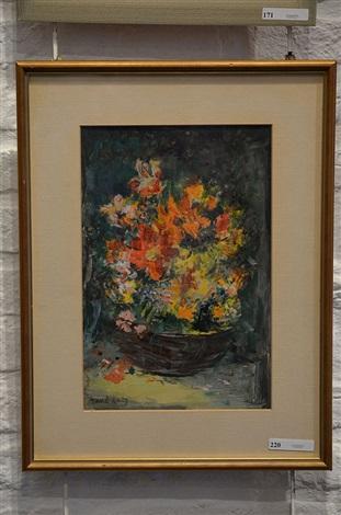 la petite corbeille de fleurs by mané katz