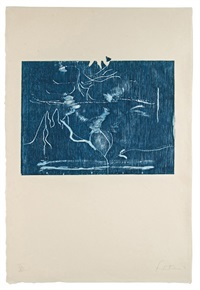 monoprint xiii - the clearing by helen frankenthaler