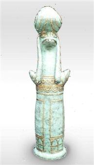 egyptian rams head by barbara tribe