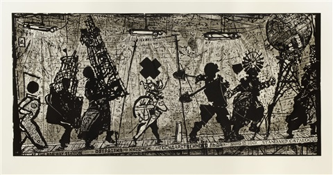eight figures by william kentridge