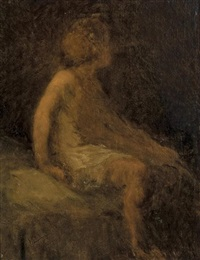 young girl by william morris hunt
