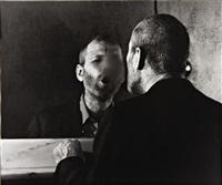 der fleck auf dem spiegel, den der atemhauch schafft (the mark on the mirror breathing makes) by dieter appelt