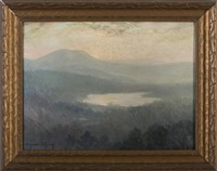 catskill mountain lake by bayard henry tyler