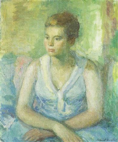 retrato de mujer by manuel humbert
