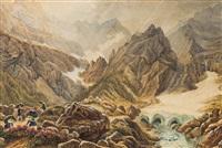 alpenlandschaft by gustav reinhold