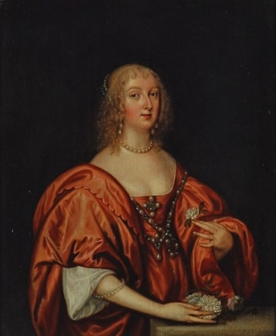 portrait of the countess of caernarvon by sir anthony van dyck