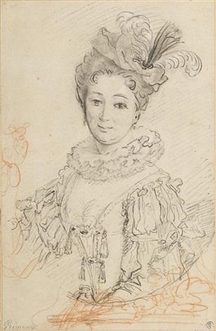 portrait de la comtesse dolonne by alexis grimou