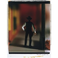 gunslinger (from wild west) by david levinthal