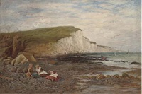 children on the beach by william samuel jay