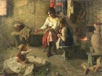 fireside by carlo facchinetti