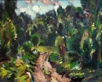 landscape by jazeps pigoznis