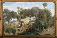 oasis by adolphe-paul-emile balfourier