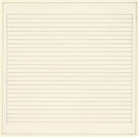 untitled (n.22) by agnes martin