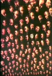 autoportrait avec têtes by zoran ljutica