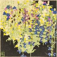 wiesenblumen by paula maria (rossler) von goeschen