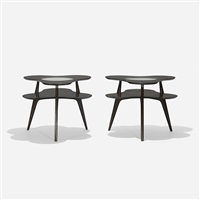 occasional tables, pair by erno fabry