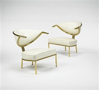 chairs (pair) by maurice bailey