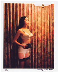 motel fetish. dita with cd player by chas ray krider