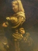 mère et deux enfants by edouard d' apvril