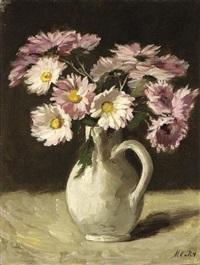 still life with chrysanthemum by marie van regteren altena