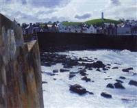 macduff harbour by gordon ward