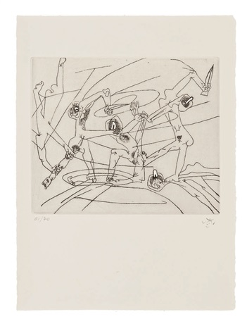 the new school portfolio of 10 by roberto matta