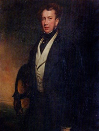 portrait of a brice pearse esq by james godsell middleton