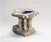 pedestal bowl by carol mcnicoll