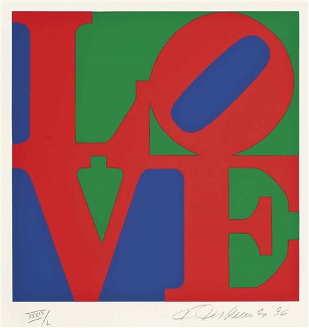 love from the book of love by robert indiana