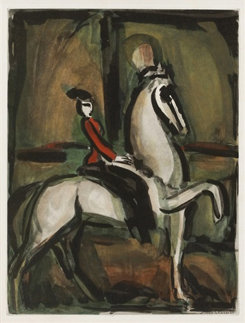 amazon from cirque by georges rouault