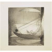 eaux-fortes théâtrales pour monsieur g (album w/7 works) by louis marcoussis