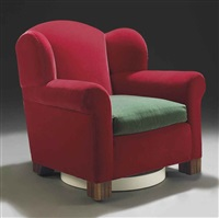 knew swivel wingback chair by roy mcmakin