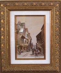 Street Scene, 1910
