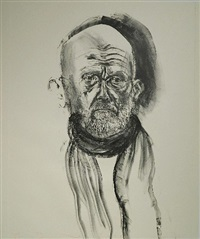 dine in black grease by jim dine