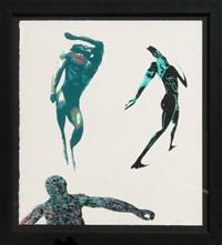 dancing men by leon golub