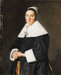 portrait of a lady by frans hals the elder