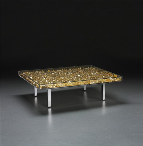 table dor by yves klein