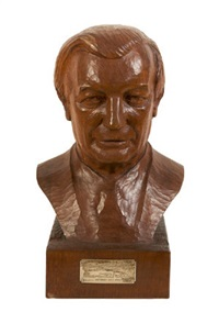 bust of c.j. haughey by john haugh