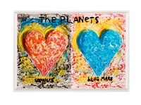 the planets by jim dine