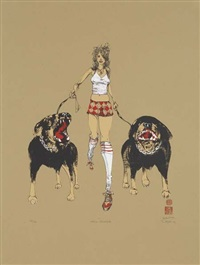 hell houndz by david choe