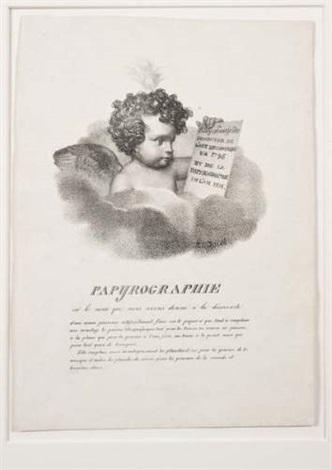 papyrographie by nicolas henri jacob