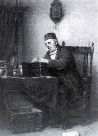 the antique dealer by jacob taanmann
